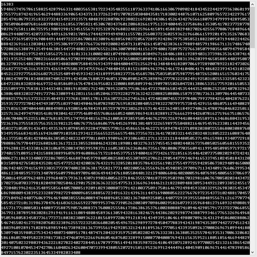 16383